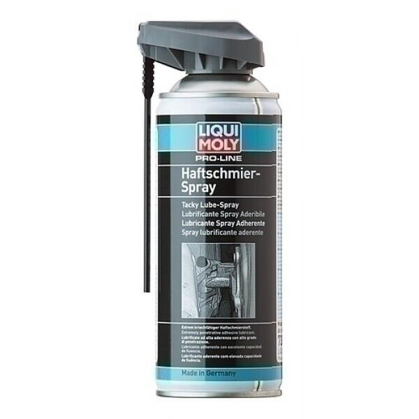 Liqui Moly Pro-Line Haftschmier Spray | Lubricante en Spray Adherente 400 mL