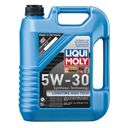 Liqui Moly Longtime High Tech 5W-30 5 Litros   Para gasolina y diesel, incluye sistema common rail