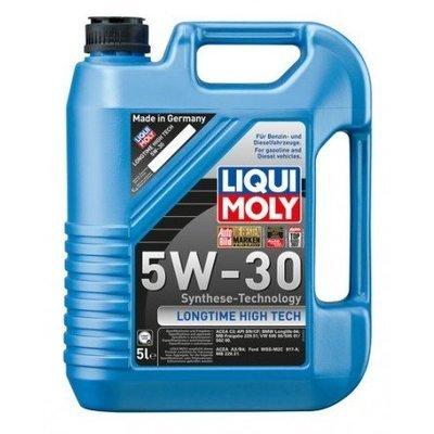 Liqui Moly Longtime High Tech 5W-30 5 Litros | Para gasolina y diesel, incluye sistema common rail