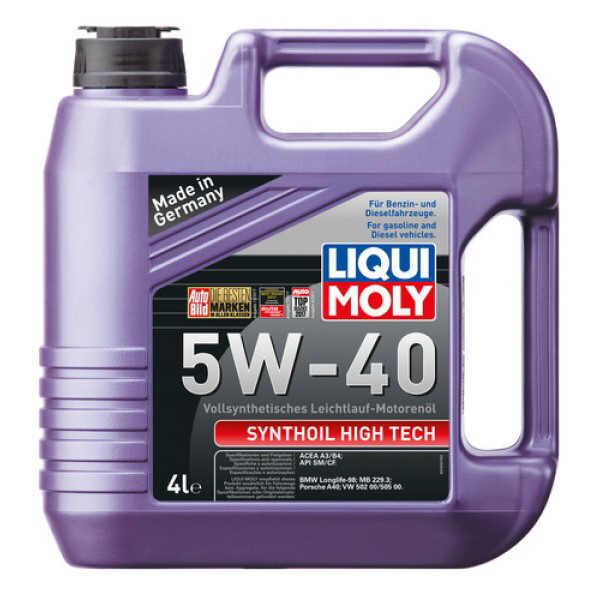Liqui Moly Synthoil High Tech 5W-40 4 Litros