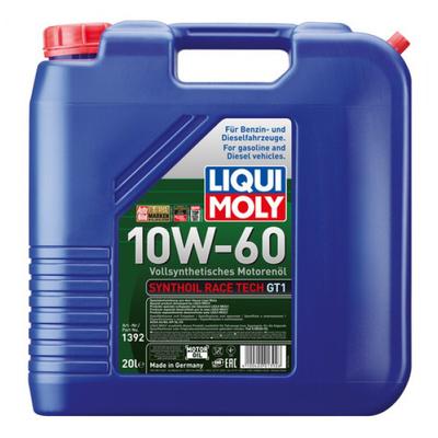 Liqui Moly Synthoil Race Tech GT1 10W-60 20 Litros