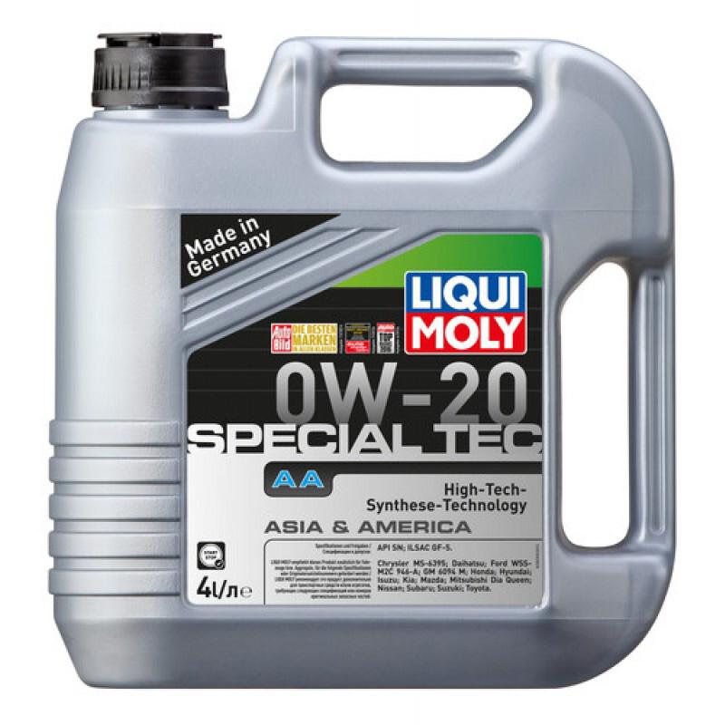 Liqui Moly Special Tec AA 0W-20 4 Litros