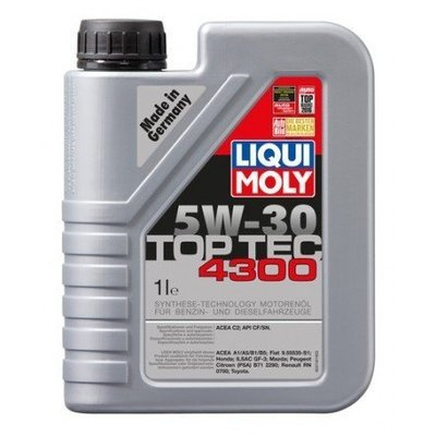 Liqui Moly Top Tec 4300 5W-30 1 Litro