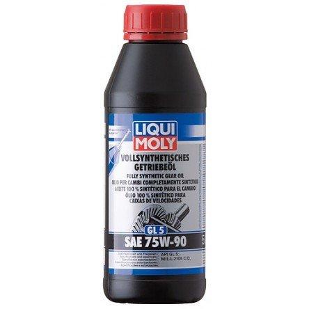 Liqui Moly Vollsynthetisches Getriebeöl (GL5) SAE 75W-90 | Aceite 100 % sintético para el cambio (GL5) SAE 75W-90 1 Litro