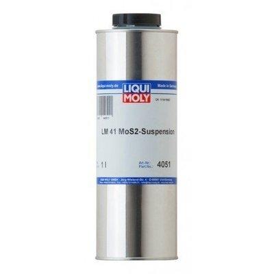 Liqui Moly LM 41 Suspensión de MoS2 | Suspensión coloidal Mos2 lubricante sólido en aceite mineral 1 Litro