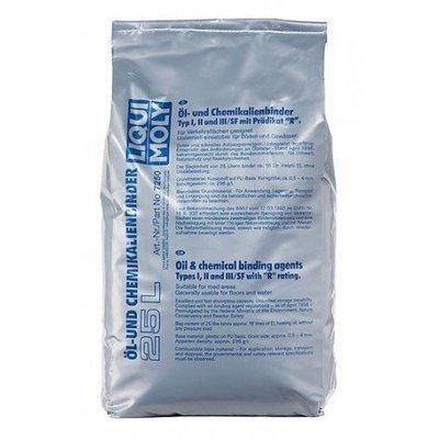 Liqui Moly Ölbinder | Absorbente de aceite | 25 Kg