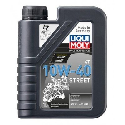 Liqui Moly Motorbike 4T 10W-40 Street | API SL, JASO MA2