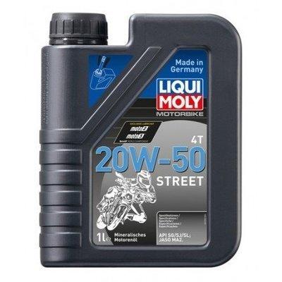 Liqui Moly Motorbike 4T 20W-50 Street | API SG, API SJ, API SL