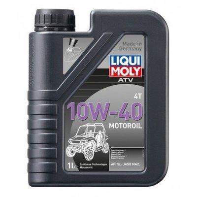 Liqui Moly Aceite Tecnología Sintética HC ATV 4T Motoroil 10W-40 | API SL, JASO MA2