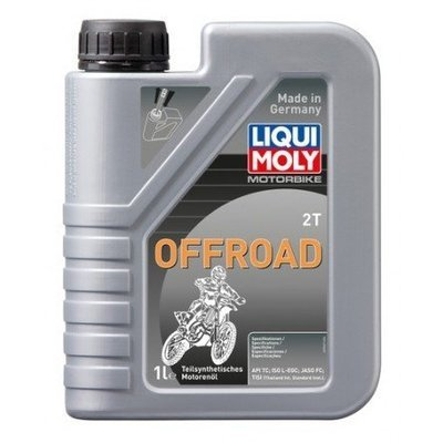 Liqui Moly Motorbike 2T Offroad | API TC, ISO L-EGC, JASO FC, TISI