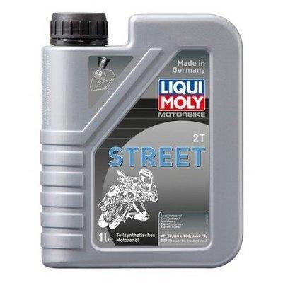 Liqui Moly Motorbike 2T Street | API TC, ISO L-EGC, JASO FC, TISI