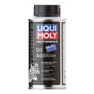 Liqui Moly Motorbike Oil Additive | Protege el antidesgaste del motor a base del disulfuro de molibdeno MoS2