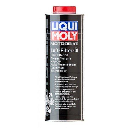 Liqui Moly Motorbike Luft Filter Öl | Aceite filtrante de aire | Aceite para filtros de aire de goma espuma | elimina el polvo