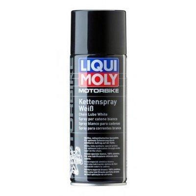 Liqui Moly Motorbike Kettenspray weiß | Spray blanco para cadenas | Grasa sintética blanca en Spray