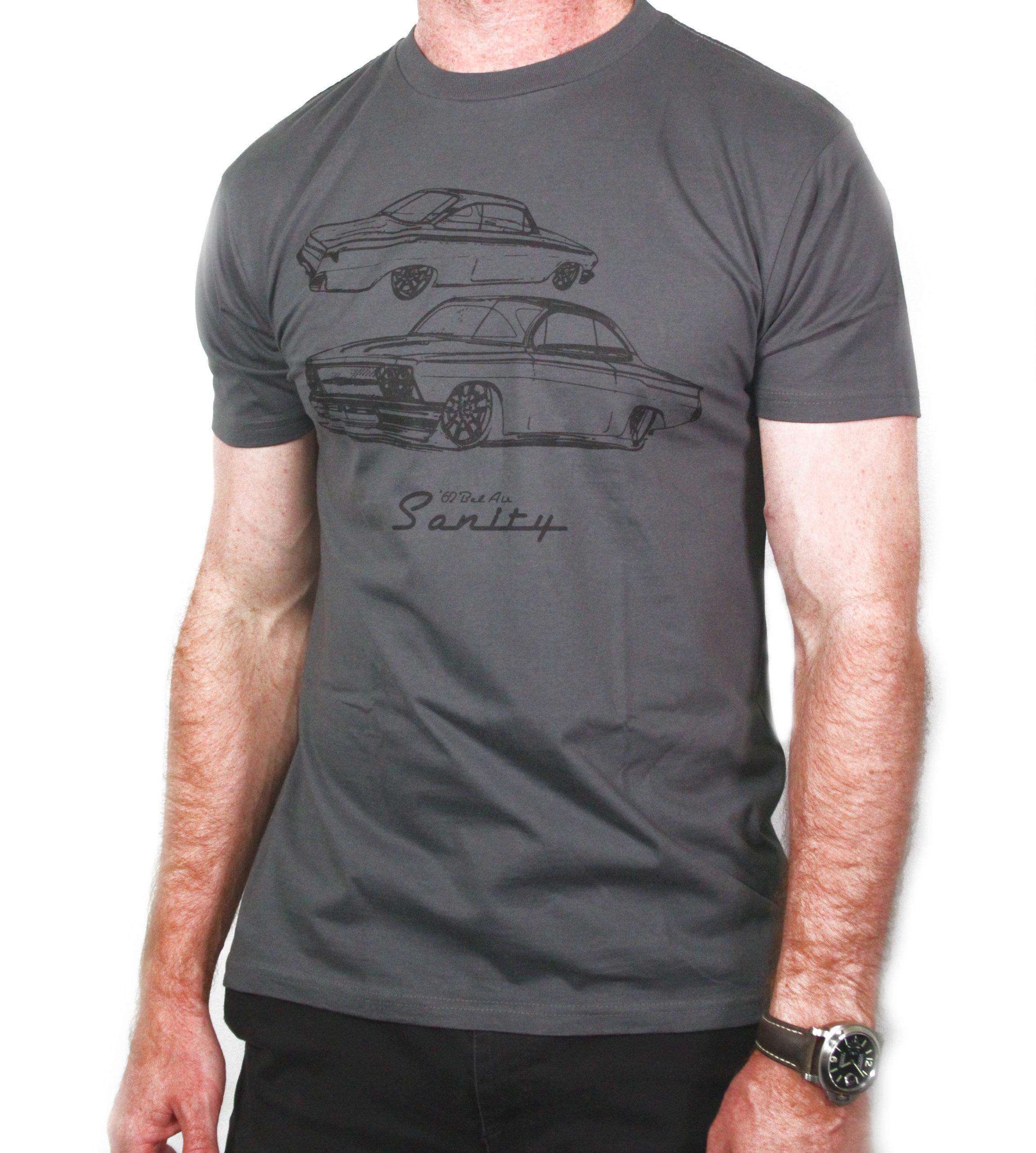Gray Sanity Tshirt 01R170301G