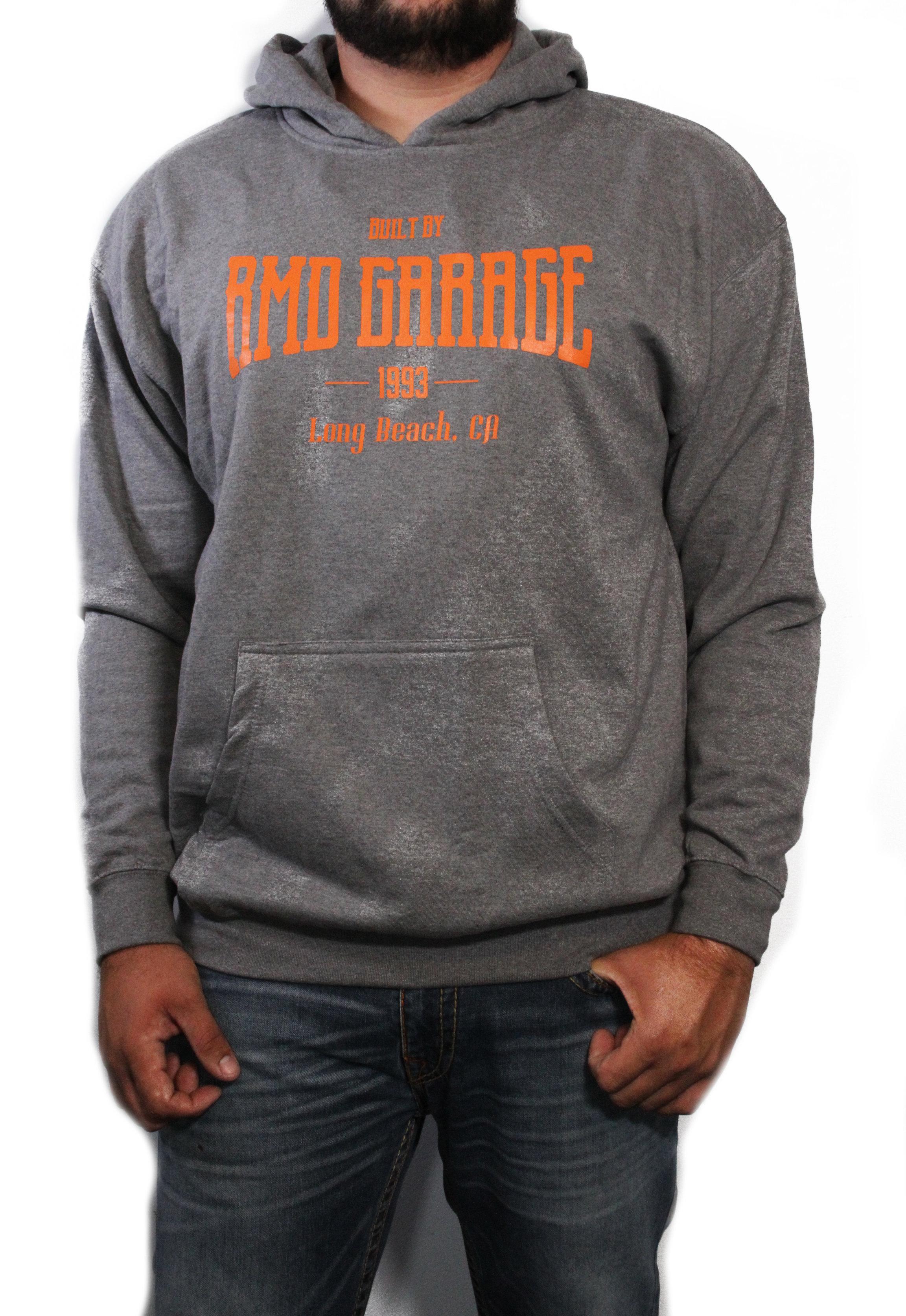 Gray Built By Hoodie 01R170400G