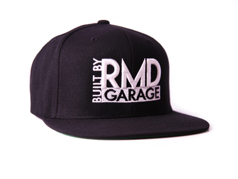 Snap Back Cap Black & White Built By Rmd 01R170600W
