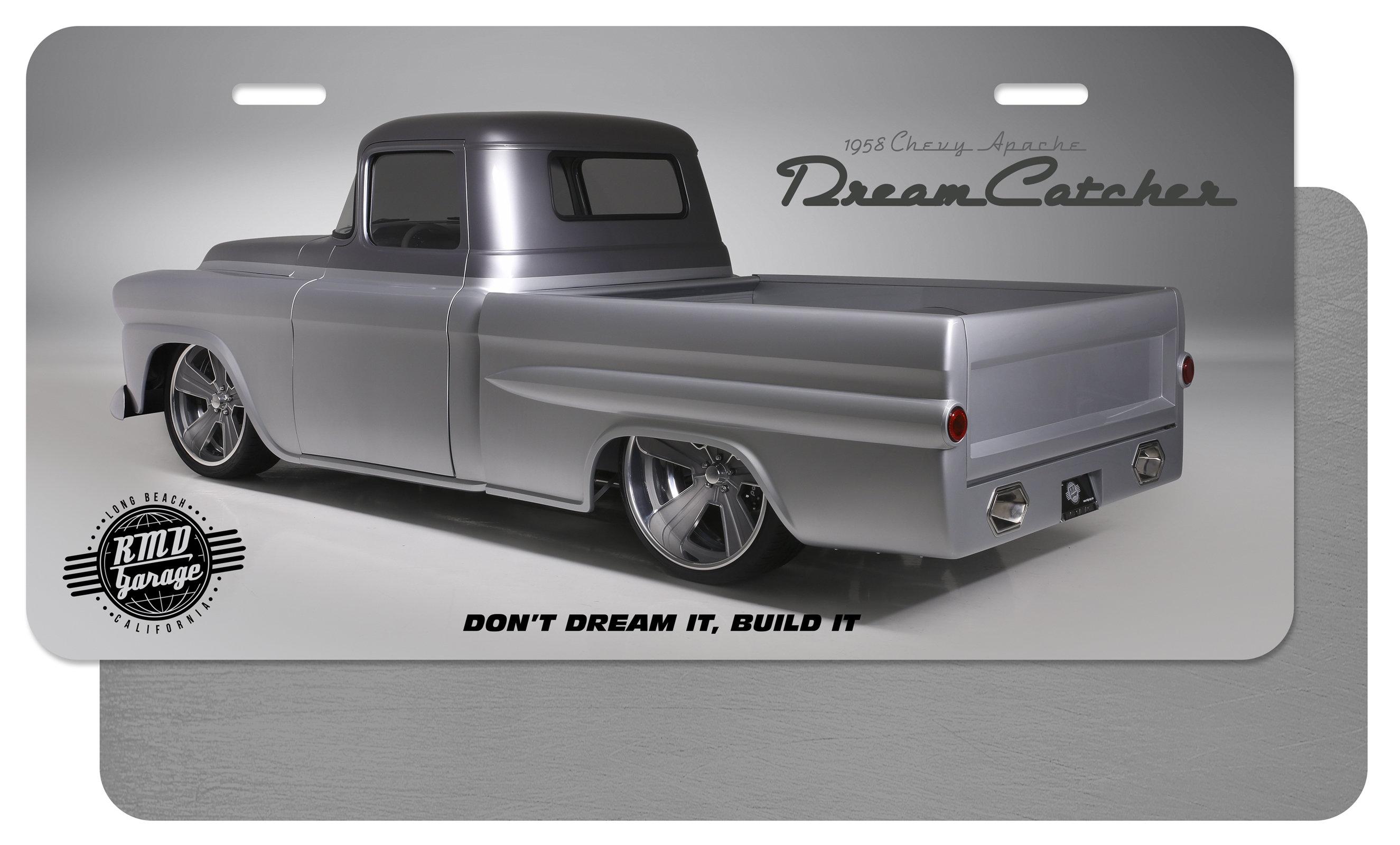 License Plate Insert Dream Catcher Side Profile 1 00003
