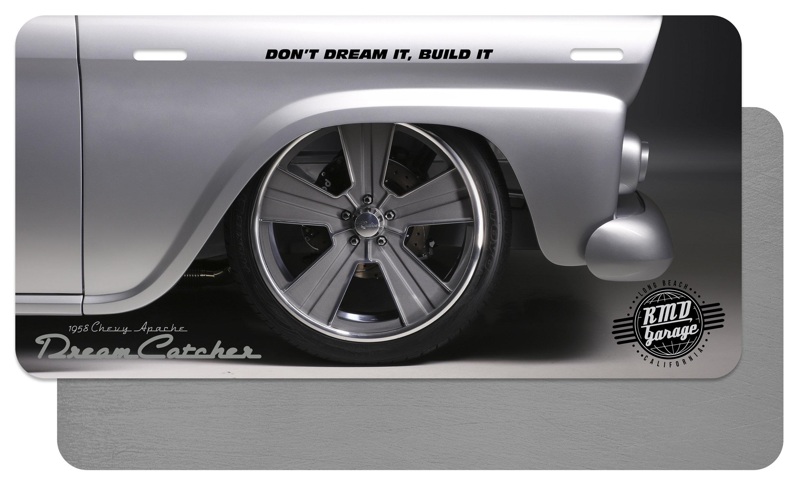 License Plate Insert Dream Catcher Wheel Profile 2 00004