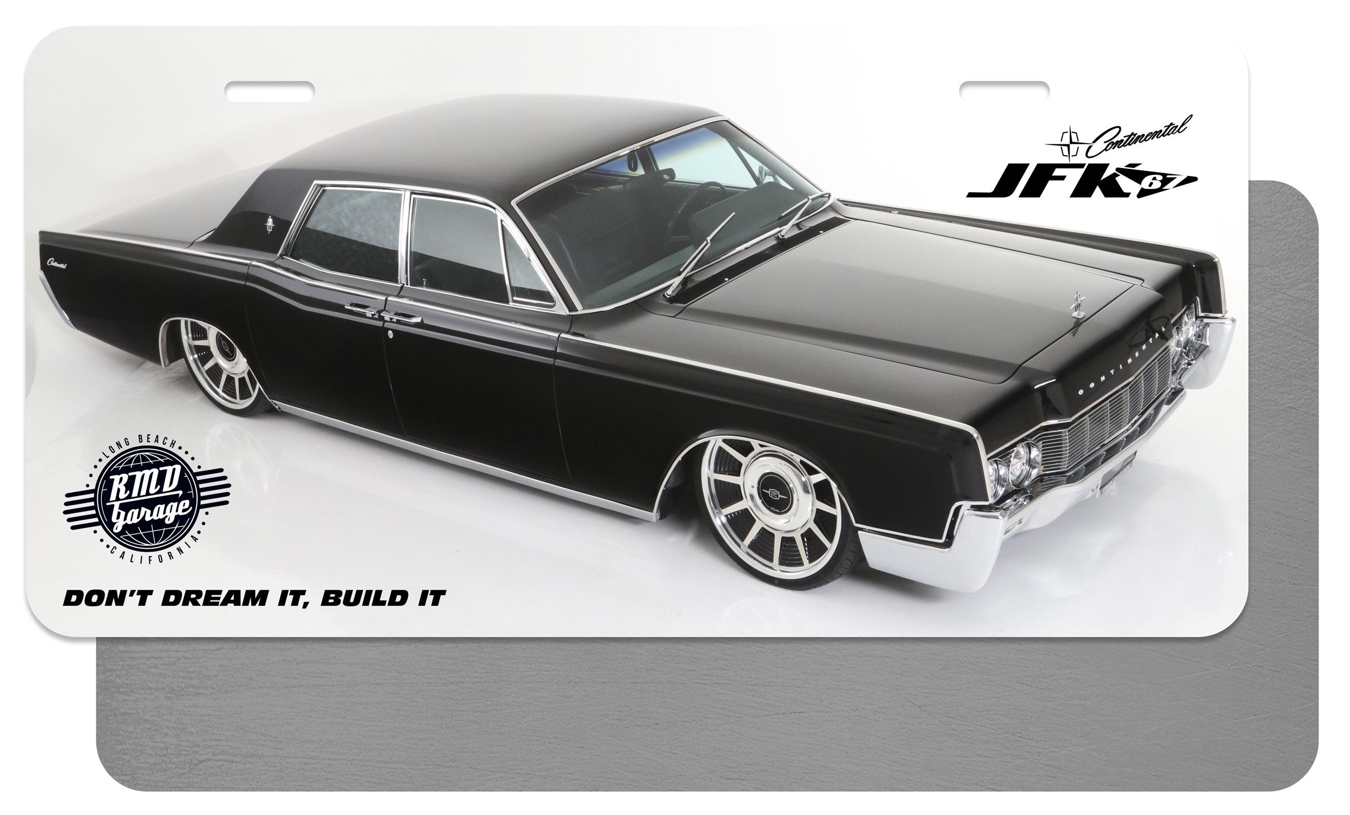 License Plate Insert JFK 3 00011