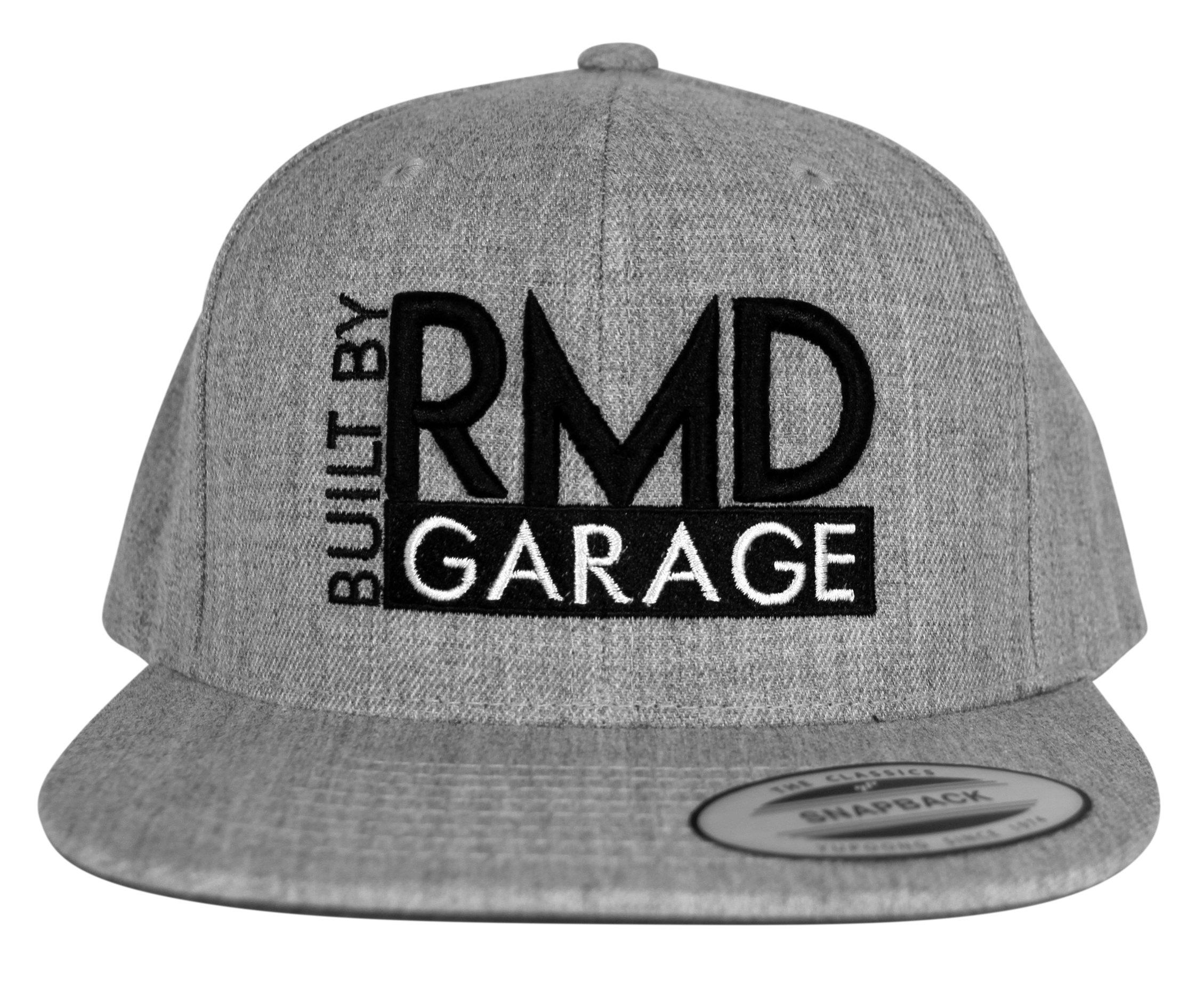 Gray  Built By RMD Garage Snapback 001R1800SBGB