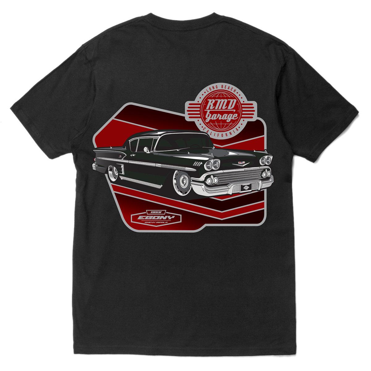Ebony Black T-shirt 001R1800TEB