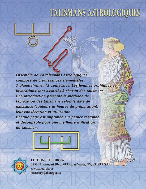 Talismans astrologiques par J.L. de Biasi