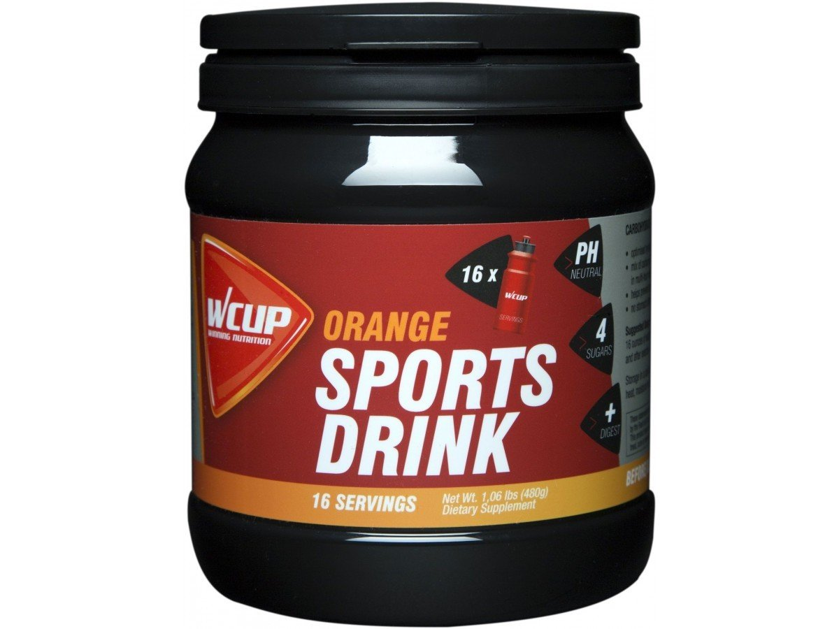 WCup Sportsdrink Orange 480g