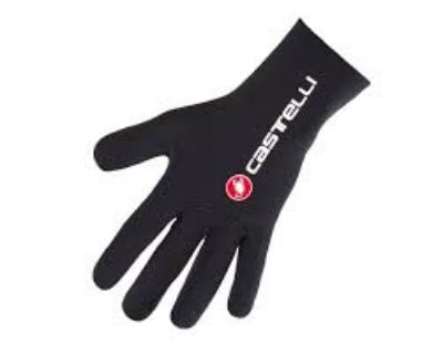 Castelli Diluvio Gloves Black & Yellow