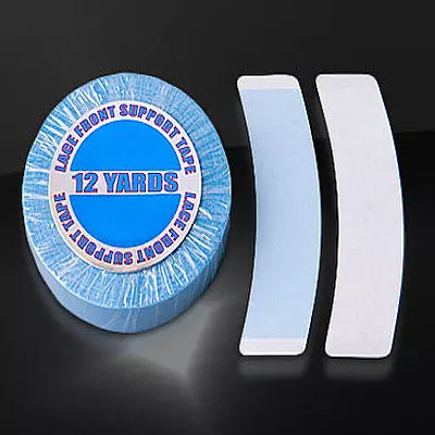 Lace Front Support Tape / Blue Liner