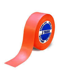 Lace Support Tape - red 5M