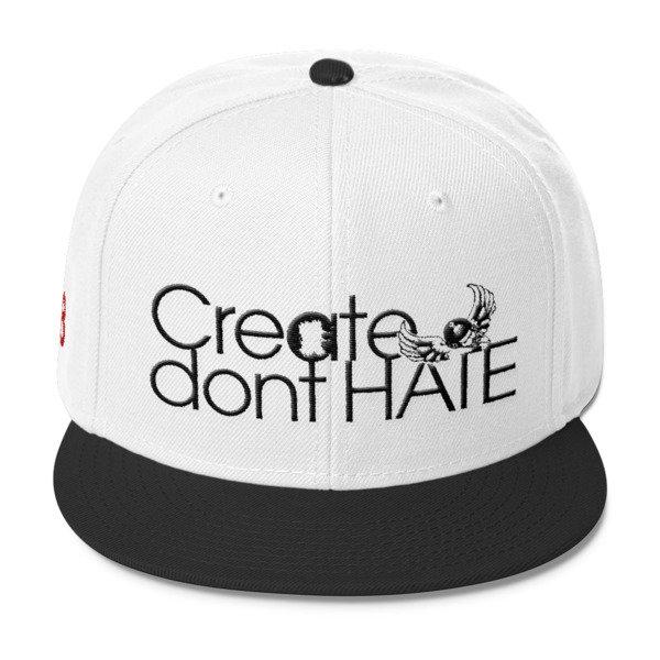 Create Dont HATE Snapback-Light