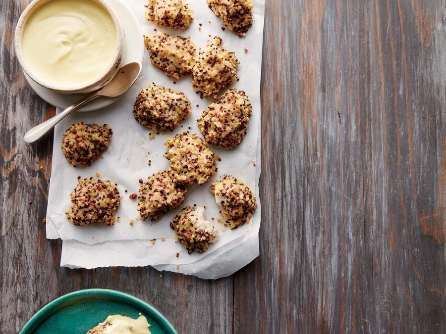 Quinoa Crusted Chicken Nuggets