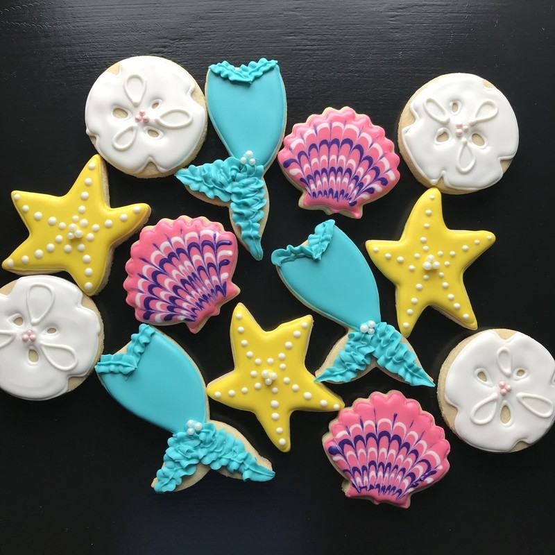 MERMAID SET A (1 DOZEN)