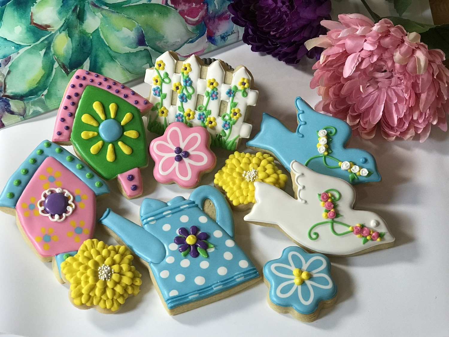 SPRING Decorating Workshop - SUNDAY, MAY 19, 2019 at 3:00 p.m. (THE POTPOURRI HOUSE) - ADULT TICKET (Age 13+)