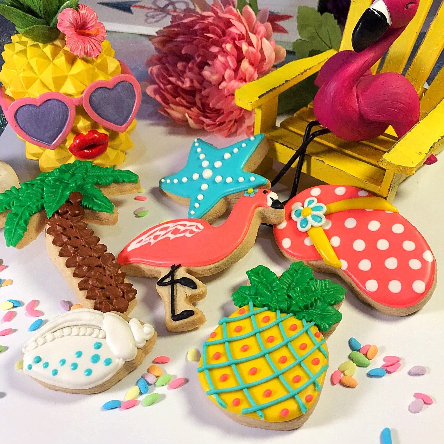 SUMMER TIME Decorating Workshop - SUNDAY, JUNE 23, 2019 at 3:00 p.m. (THE POTPOURRI HOUSE) - ADULT TICKET (Age 13+)