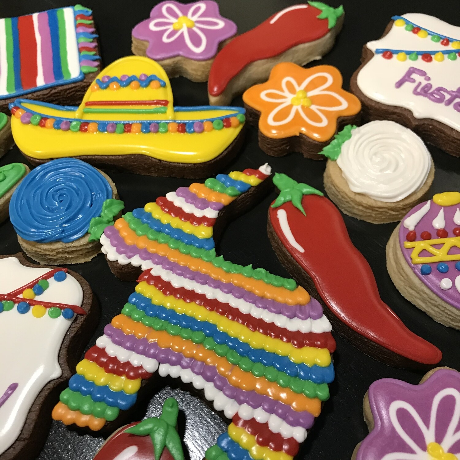 FIESTA! Decorating Workshop - SATURDAY, AUGUST 10th at 6:30 p.m. (TYLER WORK HUB)