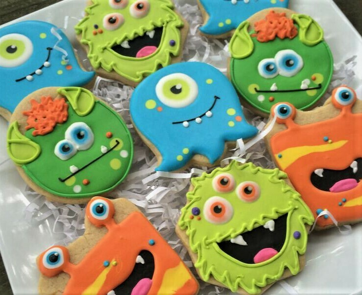 MONSTER Decorating Workshop (BYOB) - SATURDAY, OCTOBER 26th at 6:30 p.m. (POTTERY CAFE / CANVAS & CORK STUDIO)