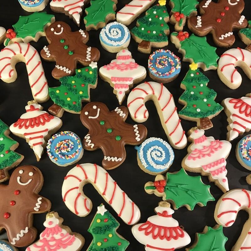 'Christmas Treats Decorating Workshop - SATURDAY, DECEMBER 14th at 6:30 p.m. (TYLER WORK HUB)