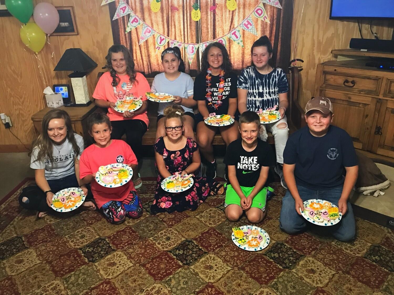 SMALL BIRTHDAY PARTY (6-10 Children) DEPOSIT