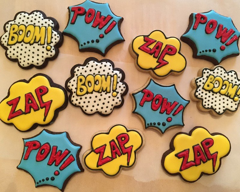 ZAP - BOOM - POW (1 DOZEN)