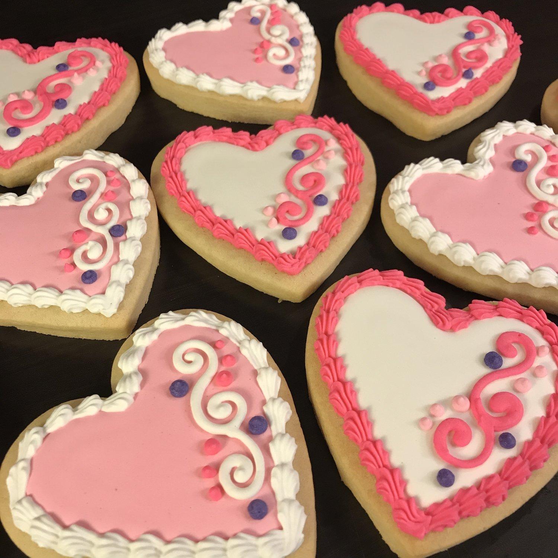 VALENTINE (B) 9 Cookies
