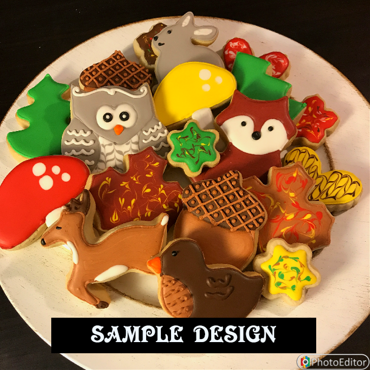 WOODLAND THEME SET (1 DOZEN)