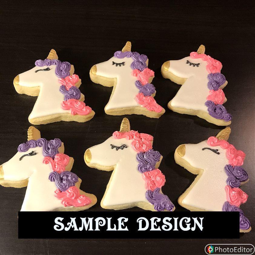 UNICORNS (SET A) 1 DOZEN