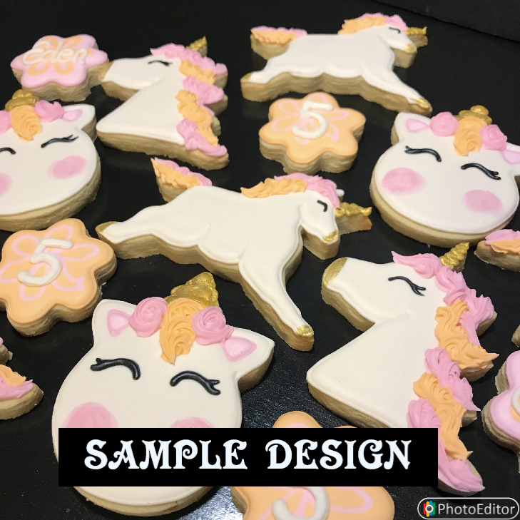 UNICORNS (SET B) 1 DOZEN