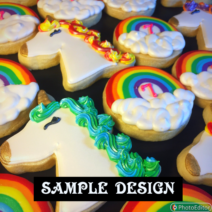 UNICORNS & RAINBOWS (1 DOZEN)