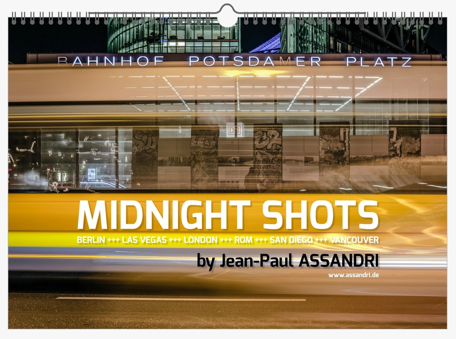 MIDNIGHT SHOTS - Kalender für 2019