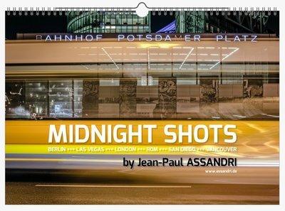MIDNIGHT SHOTS - Kalender für 2019