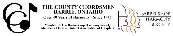 Barrie County Chordsmen - Sales