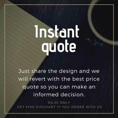 Instant quote